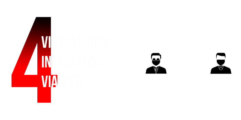 Virtual tour interattivo via web