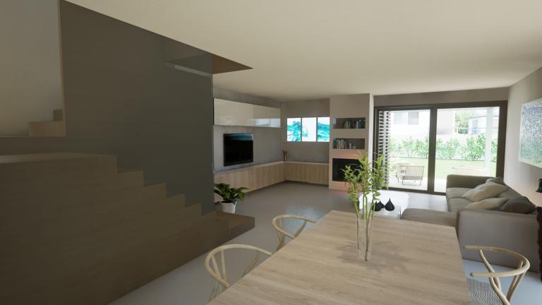 Presentazione immersiva villa