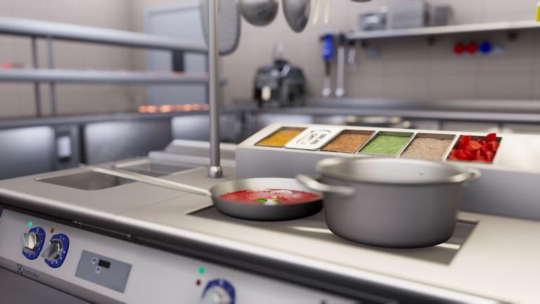 Electrolux Professional Esperienza immersiva per presentazione prodotti