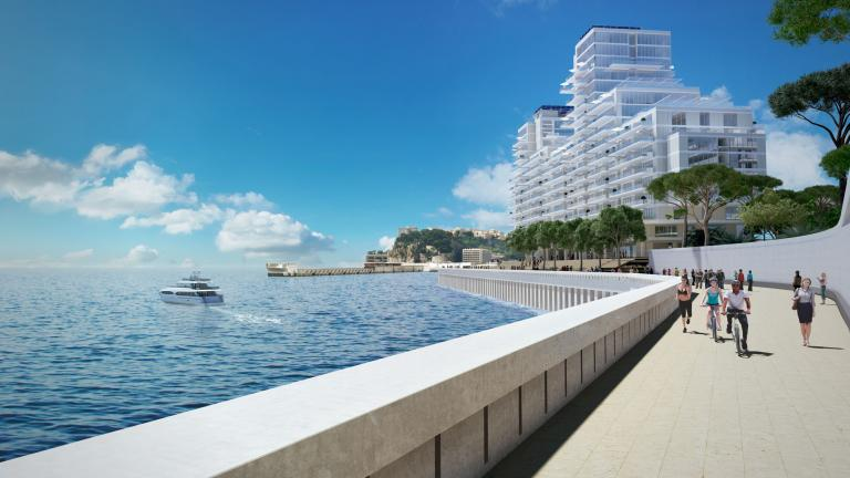 Immagini virtuali fotorealistiche di Extension en Mar a Montecarlo