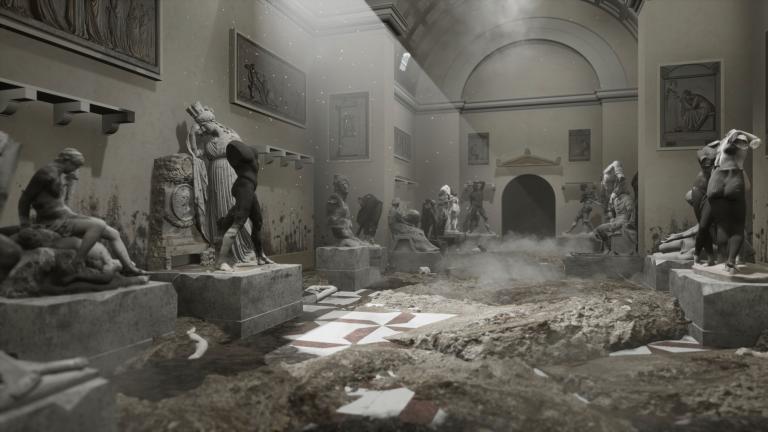 Simulazione VR della Gipsoteca del Canova