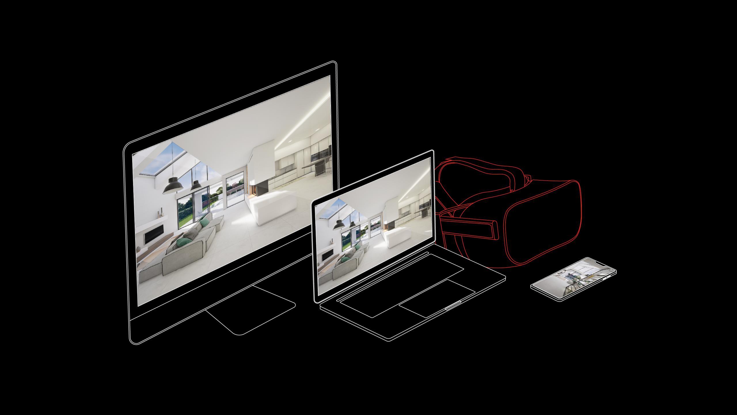 Casco Virtuale - Tecnologia