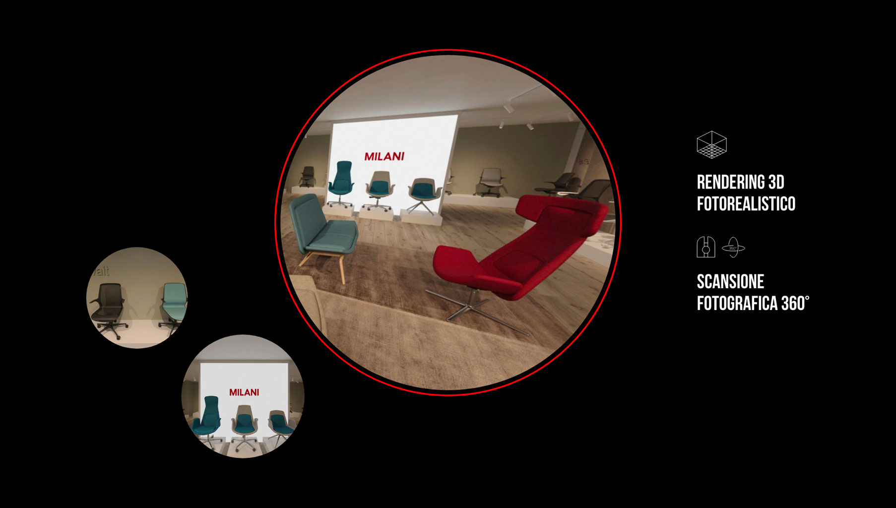 Realtà virtuale fotorealistica di alta qualità