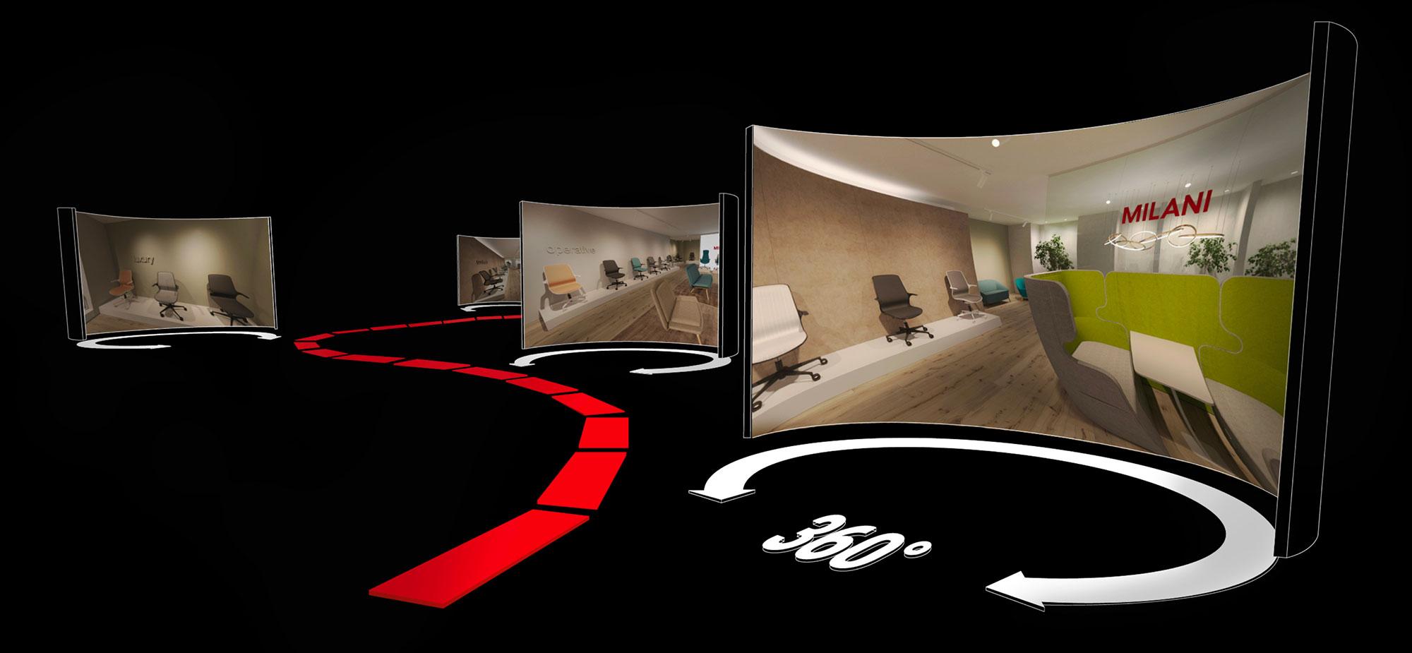 Il tuo spazio espositivo, aperto tutto l'anno, da scoprire a 360°