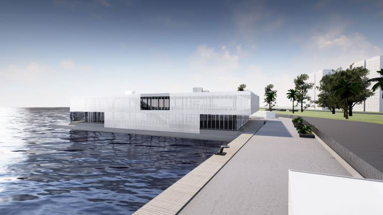 Presentazione virtuale immersiva di Yacht design